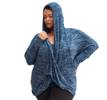 Load image into Gallery viewer, Eden Plus Size Wrap Top
