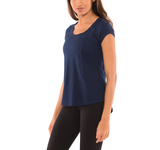 Reach the Finishline Scoop Neck Tee