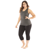 Mind and Body Plus Size Yoga Tank