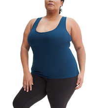 Load image into Gallery viewer, Mind and Body Plus Size Yoga Tank