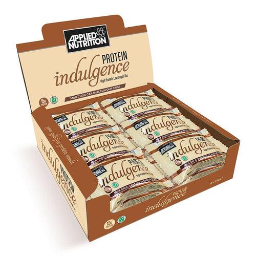 Applied Nutrition - Protein Indulgence Box of 12 Bars - Fitness Factory