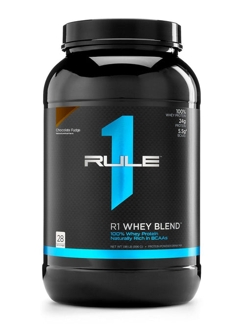 Rule 1 - R1 100% Whey Protein Blend - 28 Servings - Fitness Factory