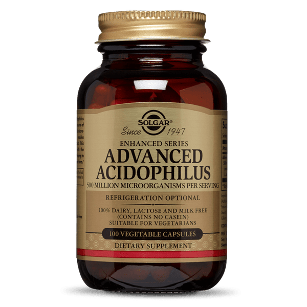 Solgar Advanced Acidophilus 90 veg caps - Fitness Factory