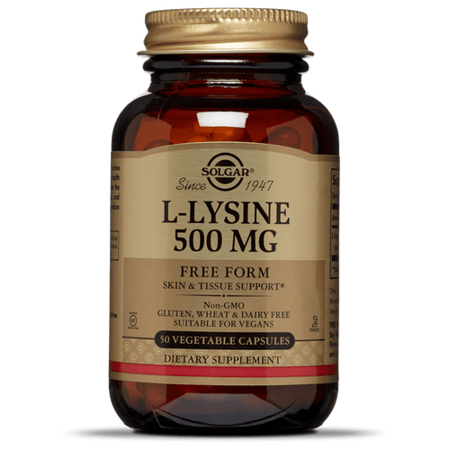 Solgar L-Lysine 500mg - Fitness Factory