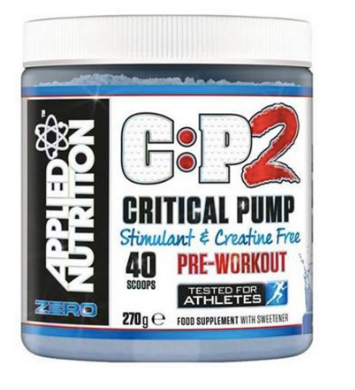 Applied Nutrition C:P2 Critical Pump - Non Stim PreWorkout - Fitness Factory