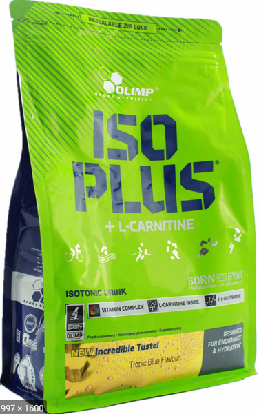 Olimp Iso Plus + L-Carnitine (1505g)