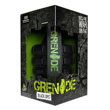 Grenade Black Ops - Energy Fat Burner 100 Caps - Fitness Factory