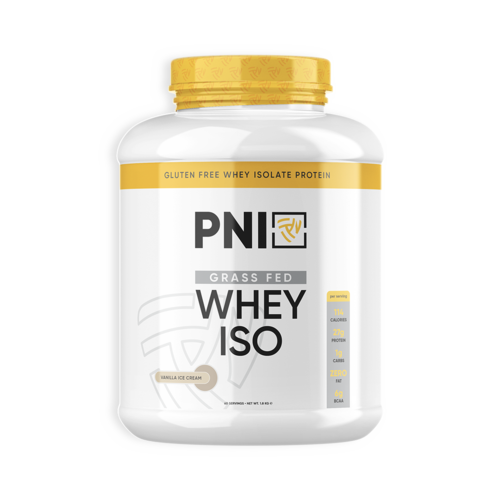 PNI - GRASS FED WHEY ISO - 60 SERVINGS - Fitness Factory