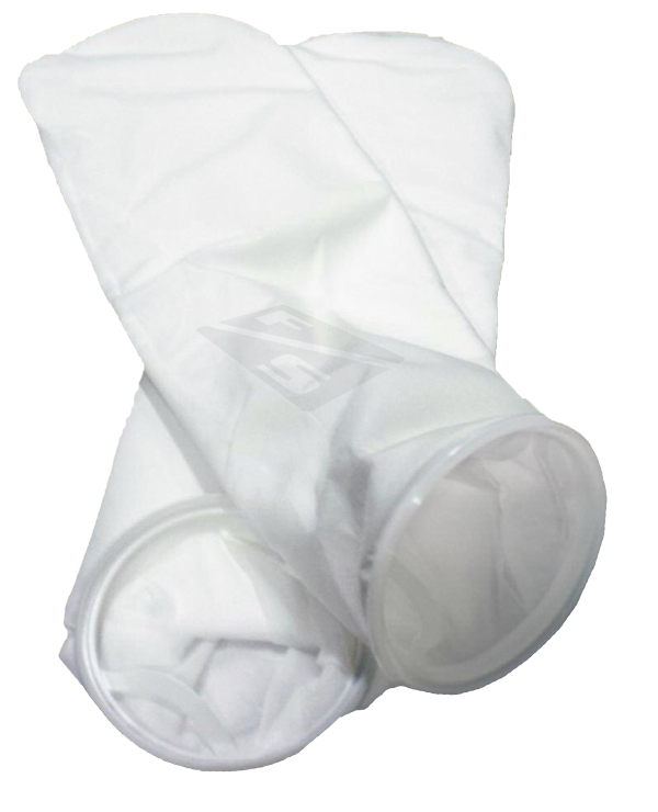 PES50P2P 50 micron Polyester Felt Singed Size 2 Liquid Filter Bag