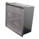 12x24x12 Super-Cell MERV 11 Rigid-Cell Air Filter, Steel Header Frame, Aluminum Separators