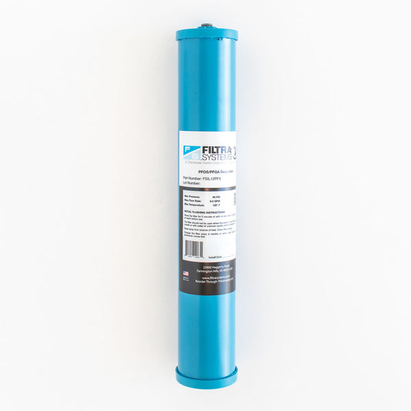 Under Sink Mounted PFAS Filter <br> Filter Only