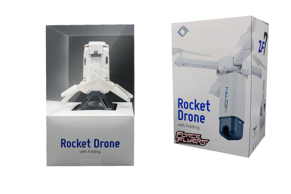 Rocket Folding Drone w/Hi Res FPV WiFi Camera