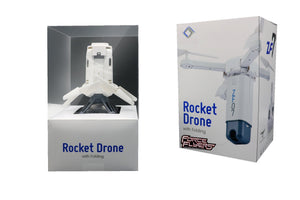Rocket Folding Drone w/Hi Res FPV WiFi Camera DSP