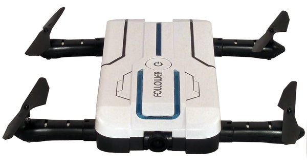 Follower Pocket Selfie Drone w/Hi Res WiFi FPV Camera