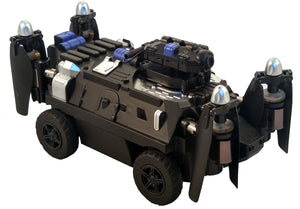 Armored Personal Carrier (APC SWAT) Drone Fly n Drive