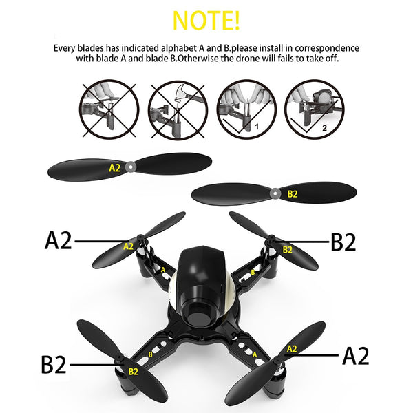 Force Flyers STEM RC Toys DIY Mini Racing Drone Headless Mode 2.4Ghz Nano LED RC Quadcopter Altitude Hold for Beginners, Gifts for Boys & Girls