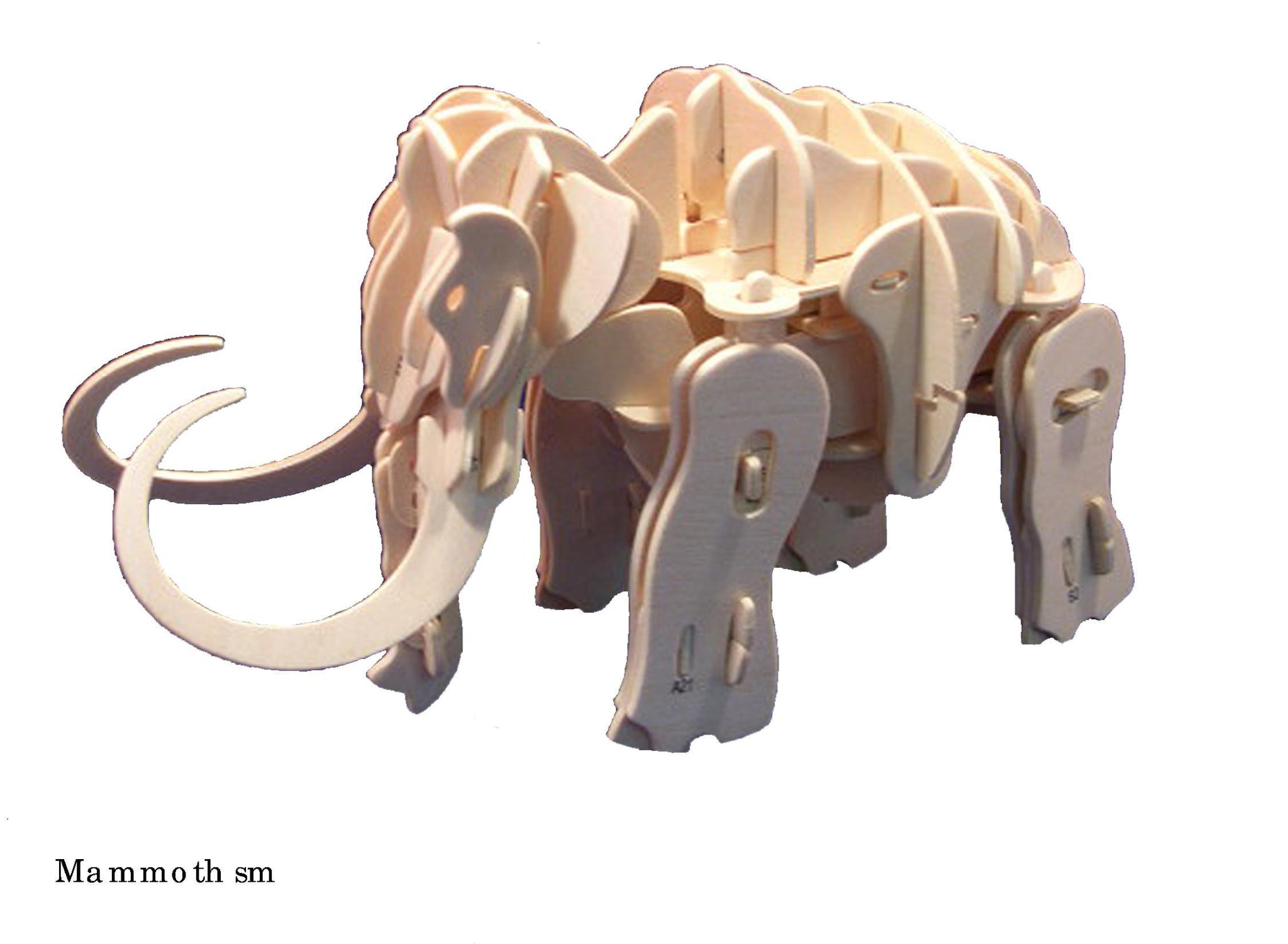 Robotic Wooden Puzzle-Mammoth