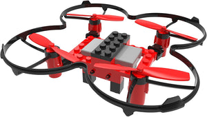 DIY- Building blocks RC quadcopter 2.4GHz remote control drone, build it yourself and fly
