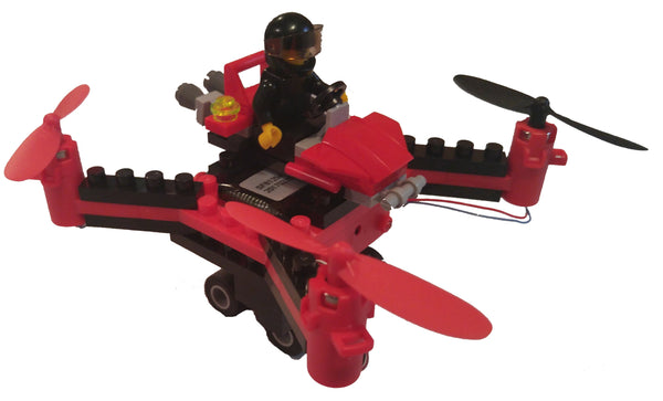 DIY Building Block Fly n Drive Racing Drone