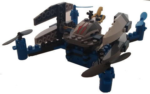 Space Fighters Building Block Drone - Sidewinder