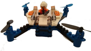 Star Fighter Building Block Drone - Snow Speeder
