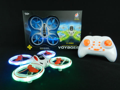 Mini Drone Helicopter UFO Drones for Kids Lighting RC Quadcopter 2.4G 4CH 6 Axis with Fantastic LED Lights Original