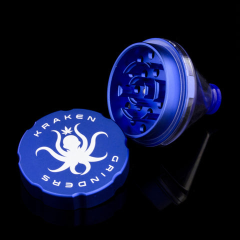 "Kraken 2.5"" 2-Piece Grinder with Stash Dispenser"