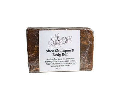 Shea Shampoo and Body Bar