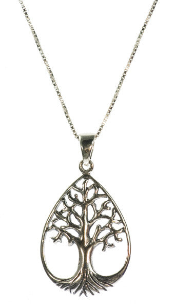 Tree of Life Pendant Sterling Silver | Whisperingtree.net