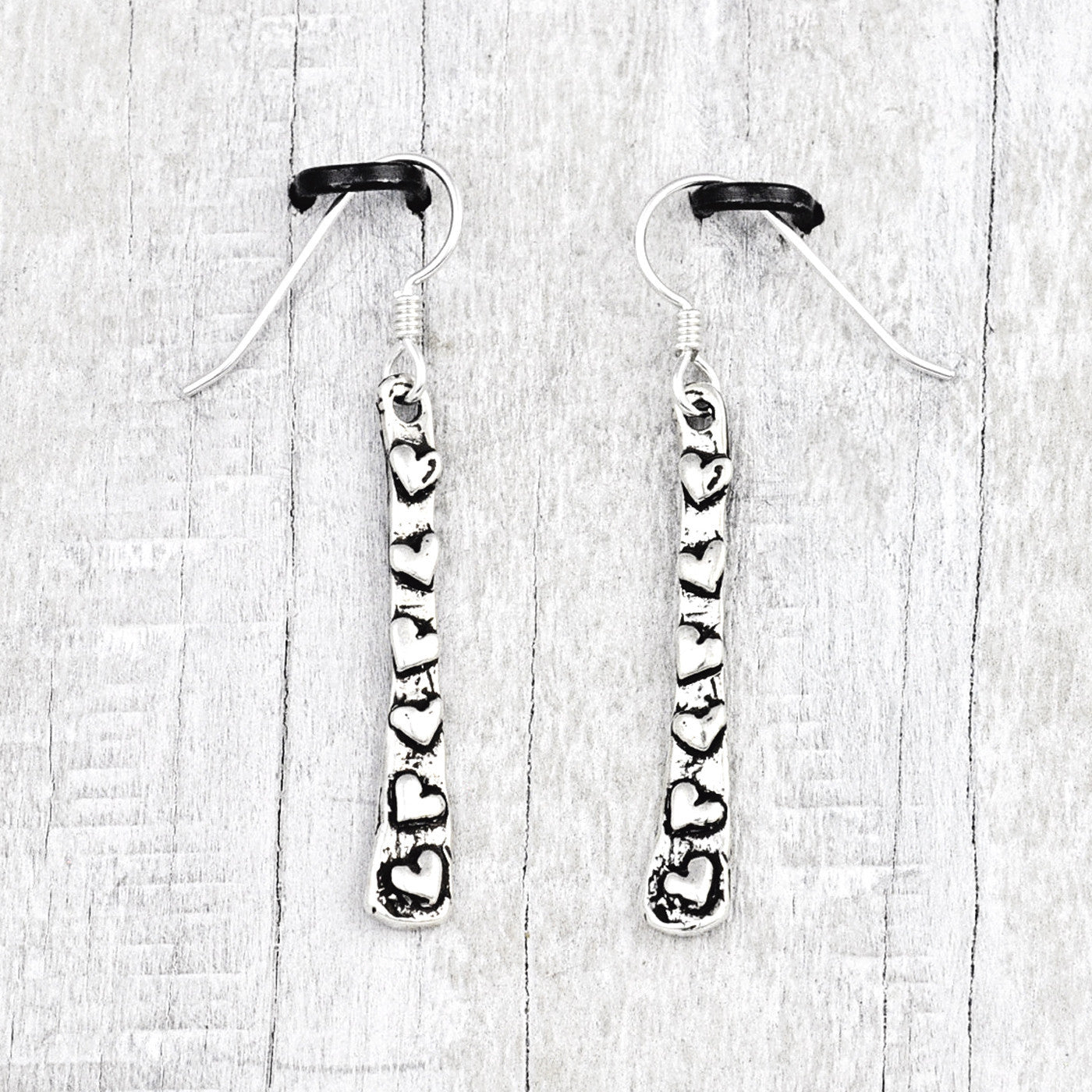 Love Heart Trail Earrings