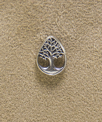 Sterling Silver Tree of Life Lapel Pin
