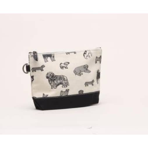 Cute Doggie Print Pouch by Shorebags