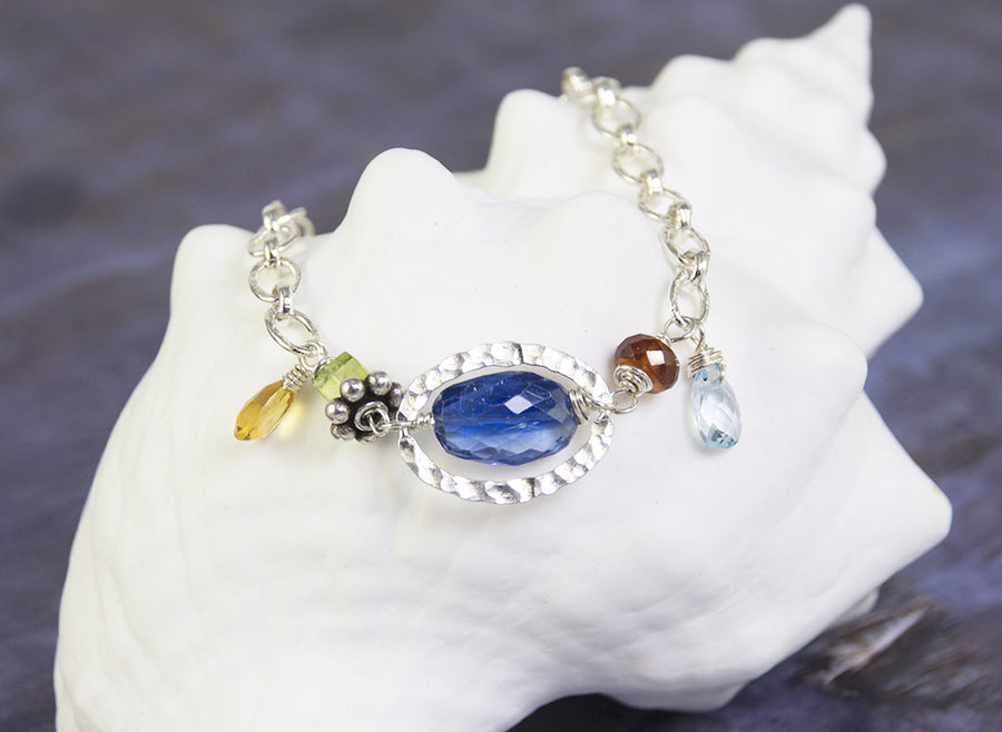 Third Eye Sterling Silver Bracelet by Kristin Ford