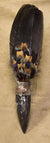 Fossil Orthoceras Lakota Sioux Wild Turkey Medicine Prayer Fan
