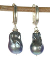 Handmade Kristin Ford Baroque Pearl Earrings Sterling SIlver | Whisperingtree.net