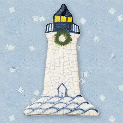Large Lighthouse Ceramic Ornament