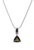 Moldavite Simple Triangle Pendant