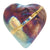 Dolphin Heart Spirit Raku Rattle