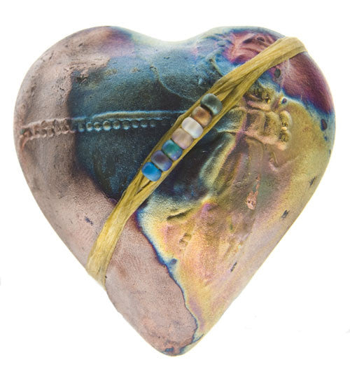 Dragonfly Heart Raku Spirit Rattle | Whisperingtree.net