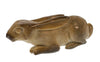 Hand Carved Rabbit Totem in Alaskan Fossil Walrus Ivory