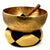 Large Hand Hammered Throat Chakra Singing Bowl