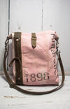 Pink Antarctic Crossbody Purse by Chloe and Lex
