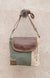 Pan American Airways Teal Crossbody Purse by Chloe and Lex