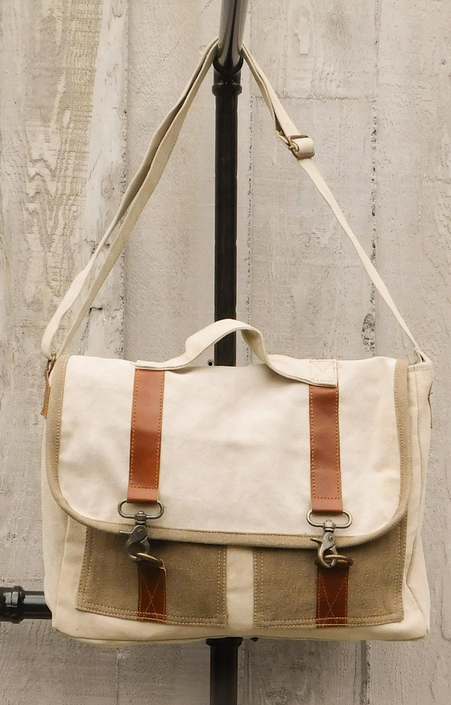 Univeristy Messenger Bag by Chloe and Lex