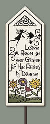Leave Room in Your Garden... Garden Tile (includes stake)