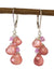 Gemmy Rhodochrosite Kristin Ford Earrings