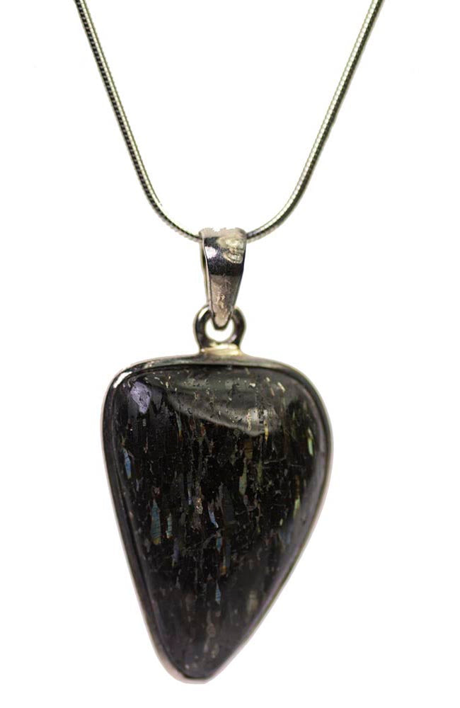 Nuummite Sterling Silver Pendant