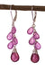 Ruby and Pink Sapphire Kristin Ford Earrings