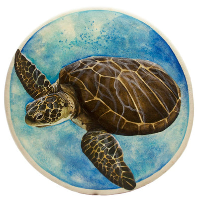 Hand Made Sea Turtle Spirit Shaman Drum 15 Inch
