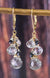 Tourmalated Quartz Gold Kristin Ford Gypsy Earrings